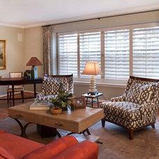 Contemporary Living Room by Decorating Den Interiors - Deborah Bettcher