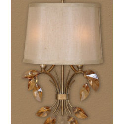 "22487 Alenya, 2 Lt Wall Sconce by uttermost - Get 10% discount on your first order. Coupon code: ""houzz"". Order today."