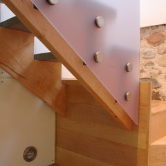 modern staircase by Studio One-Off Architecture & Design
