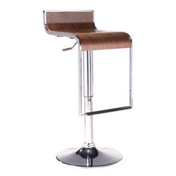 LEM Piston Style Bar Stool in Walnut