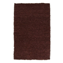 Surya - Surya Cirrus Shag Hand Woven Wool Rug - Completely hand woven in India from 100% New Zealand felted wool, Surya's Cirrus Collection is available in 1 colors. The balance of texture and form of these rugs translates superbly into both modern and classic decor.
