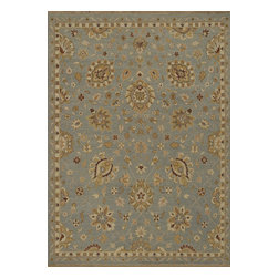 """Loloi Rugs - Hand Knotted Laurent Transitional Rug LRNTLE-01ZT00 - 2'-0"""" x 3'-0"""" - Hand-knotted of 100% wool from India, the Laurent Collection features a series of soumak rugs that add a touch of casual elegance to traditional and transitional rooms alike. Available in a series of hand-dyed earthy colors."""
