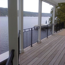 Modern Home Fencing And Gates by Lawler Railing & Metal Design