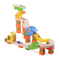 Wonderworld - Wonderworld Tris Tracks Safari Track Multicolor - WW-7007 - Shop for Vehicle Playsets and Accessories from Hayneedle.com! Your child will love creating wooden tracks and mazes with Wonderworld Tris Tracks Safari Track. Designed to encourage imagination and creativity this set also helps to develop your child s spatial perception. An easy-locking system helps to keep the tracks stable while your child is building a maze and specially designed bricks are also included so your child can create fun tricks on the track as well. With endless configurations available this track offers your child hours of time building and rebuilding fun tracks and mazes. Crafted from eco-friendly rubber wood this toy is made with non-toxic paints dyes and lacquers as well as formaldehyde-free glue. Additional Features Helps to develop spatial perception Easy-locking system keeps track stable Endless configurations possible Multi-piece wooden ball run track Includes specially designed bricks About Smart GearSmart Gear doesn't take parents' trust lightly. Their innovative and fun toys meet or exceed CPSC ASTM-F963 and EN-71 standards -- making them some of the safest products in the United States and Europe. In a commitment to the environment Smart Gear uses eco-friendly materials and nontoxic paints. Corporate responsibility isn't a buzzword for Smart Gear it's common practice.