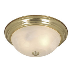 Vaxcel Lighting - Vaxcel Lighting CC25115P Saturn Transitional Flush Mount Ceiling Light - Vaxcel Lighting CC25115P Saturn Transitional Flush Mount Ceiling Light