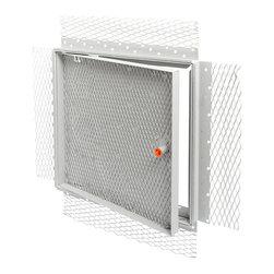 "Best Access Doors - Acoustical Plaster Recessed Access Door, 24""x36"" - 24"" x 36"" Acoustical Recessed Access Door"