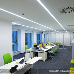 Flexfire LEDs Task Lighting - Home Office - UltraBright™ LED strip lighting from Flexfire LEDs used to light up this home office and to increase productivity. Very easy install and 100% dimmable. Uses 7.5 watts per foot.