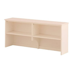 Canwood - Canwood Hutch in White - Canwood - Hutch - 7921 - Your tween will keep their Canwood Single Desk clutter needs in check with this stunning Canwood Hutch. With its clean lines and rich wood finish, this unit is the complimentary piece for the Canwood Single Desk. Taking its design inspiration from the Canadian outdoors, this constructed Hutch will fit flawlessly with your other Canwood decor. With its perfect amount of storage space, the Canwood Hutch creates more room on your Canwood Single Desk for heavy books and trinkets.