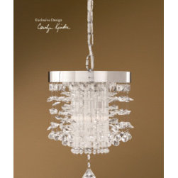 "21849 Fascination, Crystal Mini Pendant by uttermost - Get 10% discount on your first order. Coupon code: ""houzz"". Order today."