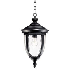 "Bellagio 18"" High Black Outdoor Hanging Light 