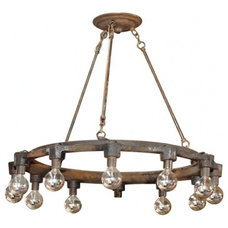 Industrial Chandeliers by EcoFirstArt