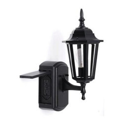 Outdoor Lighting With Outlet Homes Decoration Tips