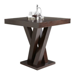 Counter Height Table in Espresso Finish - Counter Height Table in Espresso Finish
