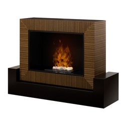 "Dimplex - Dimplex Amsden Opti-Myst Electric Fireplace Multicolor - GDSOPL-1382CN - Shop for Fire Places Wood Stoves and Hardware from Hayneedle.com! Make your fireplace the place to gather with this Dimplex Amsden Opti-Myst Electric Fireplace. This electric fireplace displays a beautiful smoky flame atop white stones without emissions or harmful particulates. This completely safe and clean design comes in a rich contemporary style that gives any home a luxurious ambiance.< /p> About DimplexDimplex North America Limited is the world leader in electric heating offering a wide range of residential commercial and industrial products. The company's commitment to innovation has fostered outstanding product development and design excellence. Recent innovations include the patented electric flame technology - the company made history in the fireplace industry when it developed and produced the first electric fireplace with a truly realistic ""wood burning"" flame effect in 1995. The company has since been granted 87 patents covering various areas of electric flame technology and 37 more are pending. Dimplex is a green choice because its products do not produce carbon monoxide or emissions."