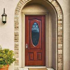 front doors by GlassCraft Door Company