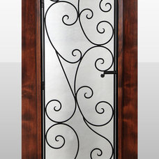 Traditional Windows And Doors by Wine Racks America