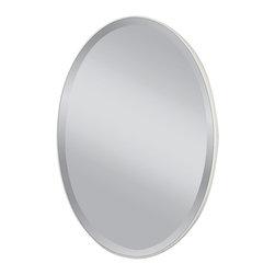 Murray Feiss - Murray Feiss MR1126WM Johnson White Matte Mirror - Murray Feiss MR1126WM Johnson White Matte Mirror