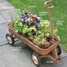 Trolley Herb Garden ~ easy to find the sun | 5 Home + Garden