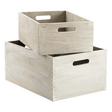 Contemporary Storage Bins And Boxes by The Container Store