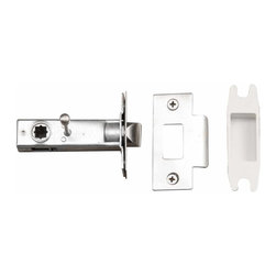 "The Renovators Supply - Door Latches Stainless Steel 2 3/8"" Backset Door Latch Set 