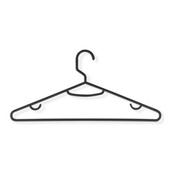 Honey Can Do - 60 Pack Recycled Plastic Hangers- Black - 60 Pack. 11.81 x 5.31 in.