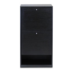 Furinno - Furinno FNAJ-11041 B&W Shoe Storage Cabinet - Furinno B&W Shoe Storage Cabinet is (1) Unique Structure: designed with simple yet stylish appearance. We focus on products that fit in your space and fit on your budget. (2) Easy Assembly: with reference to the assembly instruction, this unit can be assembled in as short as 45 minutes. Designed to meet the demand of low cost but durable and efficient furniture. (3) Made from E1 grade engineered particle board with high durability and without harsh chemicals. Thus there is no foul smell. Closer to healthy living and nature. A simple attitude towards lifestyle is reflected directly on the design of Furinno Furniture, creating a trend of simply nature. Products are produced 100-percent in China. Care instructions: wipe clean with clean damp cloth. Avoid using harsh chemicals. Pictures are for illustration purpose. All decor items are not included in this offer.