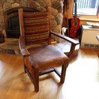 Reclaimed Dining Room Arm Chair -