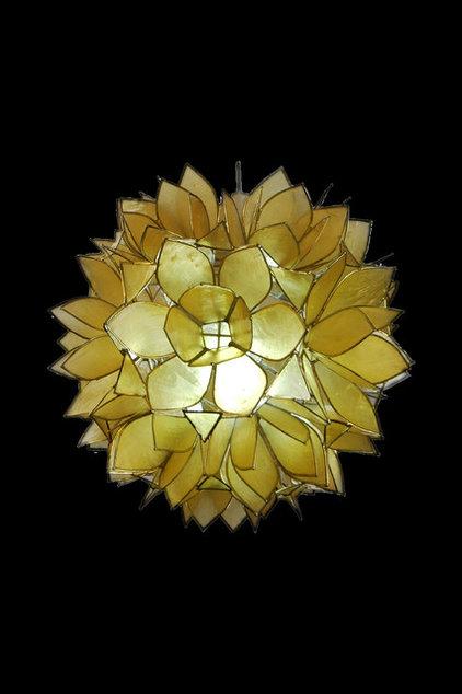 Tropical Pendant Lighting by ArmoiredeFer Decor Shop