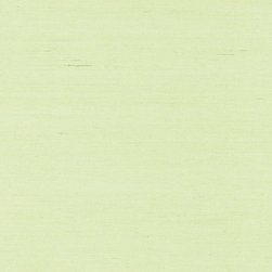 Peiyan Light Green Grasscloth Wallpaper - An uplifting Spring green hue grasscloth wallpaper, woven with a tight silky texture.