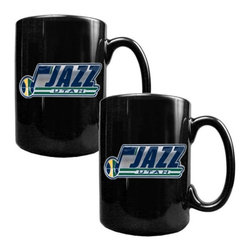 Great American Products - Great American NBA Black Ceramic Mug Set - GMGM2210-14 - Shop for Mugs from Hayneedle.com! About Great American ProductsWith beginnings as a belt buckle maker in Texas Great American products has become the leader in licensed metal emblems and the products that they adorn. With licenses with every major sports league Great American products a wide range of unique products like drinkware coolers and kitchen accessories for the dedicated fan.