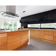 contemporary french wooden kitchen - Google Search
