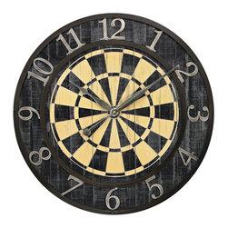Sterling - Sterling 26-8671 Dart Board Wall Clock - Sterling 26-8671 Dart Board Wall Clock