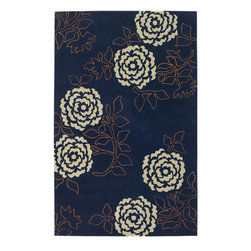 "Emma At Home EMM19916 Designer Rug - 5' x 7'6"" - Award-winning designer Emma Gardner, chief designer and principal at emma gardner design, has been creating striking and vibrant rugs for consumers, interior designers and architects since 2002 from her Litchfield, Connecticut studio."