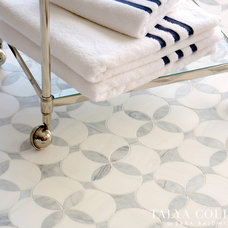 Contemporary Floor Tiles by Sara Baldwin Design