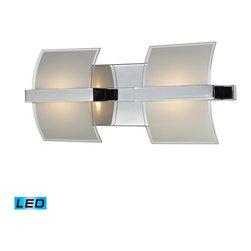 Elk Lighting - Epsom LED 2-Light 5W Glass Wall Lamp - Epsom LED 2-light 5W glass wall lamp