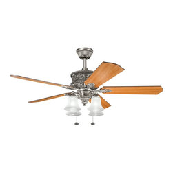 "Kichler Lighting - Kichler Lighting Corinth 52"" Traditional Ceiling Fan X-PA161003 - Kichler Lighting Corinth 52"" Traditional Ceiling Fan X-PA161003"