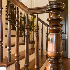 Traditional Staircase by Whitestone Builders
