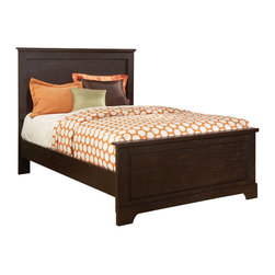 Standard Furniture - Standard Furniture Hideout Panel Bed in Warm Dark  - Twin - Hideout combines handsome transitional styling with well planned function, great storage options, and the flexibility to create customized room arrangements - all wishes of youth and parents today.