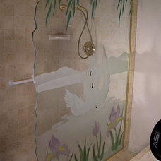 Traditional Showerheads And Body Sprays by Sans Soucie Art Glass