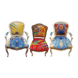 Custom Chairs and Furnishings - available, Elizabeth Carrington