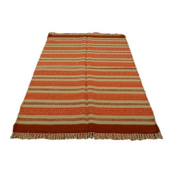 1800-Get-A-Rug - Flat Weave Hand Woven Tribal and Geometric Durie Kilim Sh6984 - About Tribal & Geometric