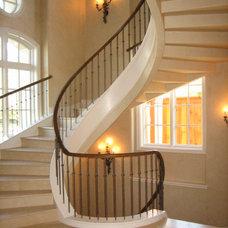 Mediterranean Staircase by kelley hall