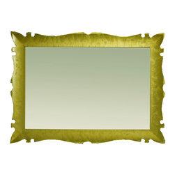 """Versalles 43"""" 1/4 bathroom mirror.Gold fantasy. - Versalles mirror 43"""" 1/4. Gold fantasy."""