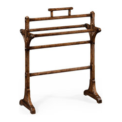 Jonathan Charles - New Jonathan Charles Towel Rack Dark Brown - Product Details