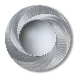 Nova Lighting - Nova Lighting WMVTX4200 Vortex Wall Mirror - Nova Lighting WMVTX4200 Vortex Wall Mirror