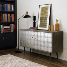 Eclectic Buffets And Sideboards by BARBARA SCHAVER DESIGNS