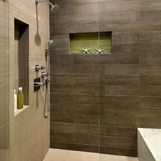 Beach Style Bathroom by Allwood Construction Inc