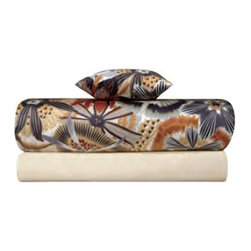 Missoni Home - Missoni Home | Olga Neutral Flat Sheet - Design by Rosita Missoni.