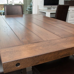 Reclaimed Chestnut and Ash Dining Table -