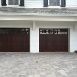 Recent Installations - Before & After installation by Design Garage Doors